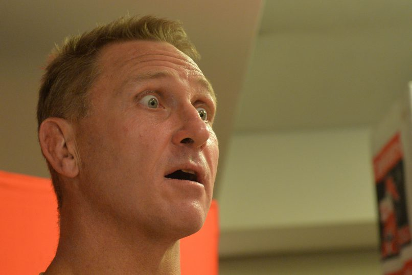 Johan Ackermann shocked many with his confirmation of a job offer in England. Photo: Lefty Shivambu/Gallo Images.