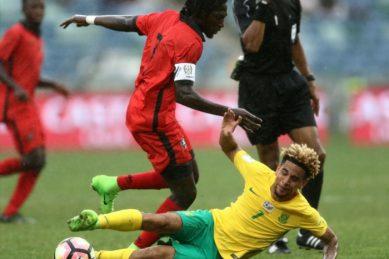 Dolly pleased with Bafana teammates