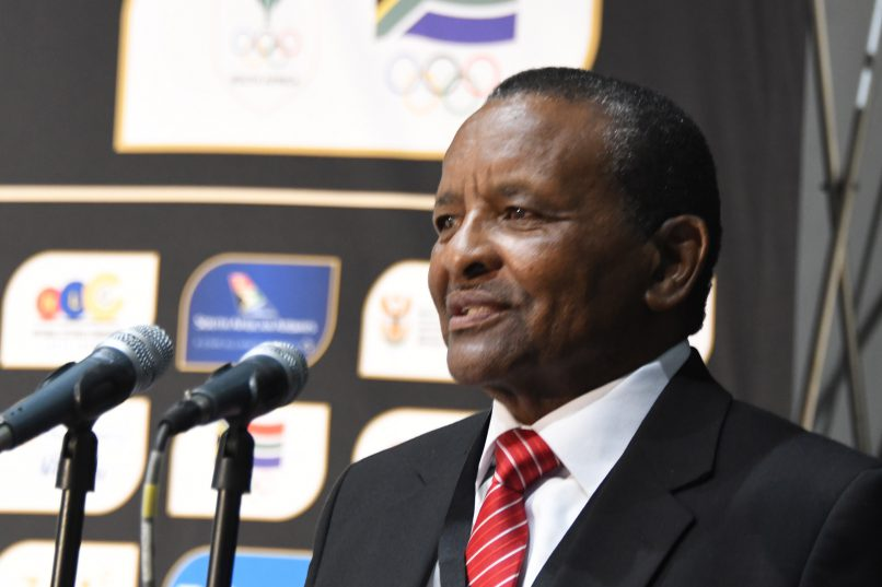 Sascoc president Gideon Sam confirmed bad news for Durban 2022. Photo: Wessel Oosthuizen/Gallo Images.