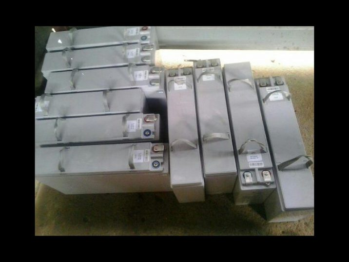 The Cell C tower batteries recovered. Photo: Supplied