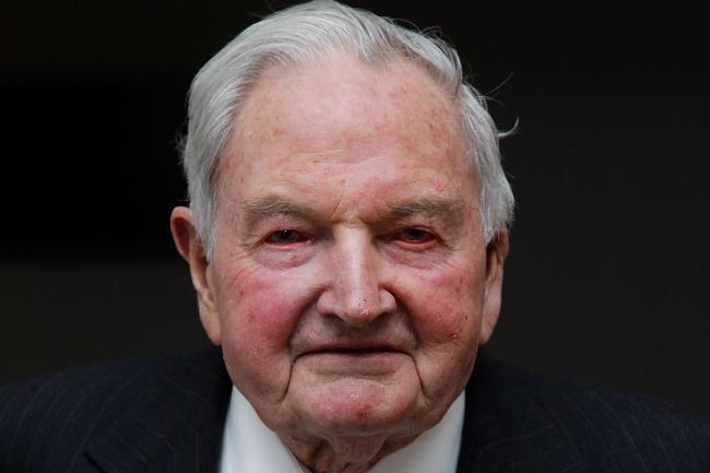 David Rockefeller. Image by www.philanthropy.com