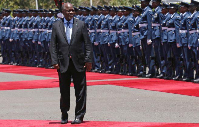 "anzania's President John Magufuli is praised by some for his ""no nonsense"" attitude."