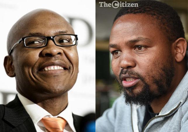 Mzwanele Manyi and Andile Mngxitama.