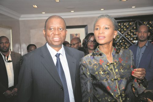 Johannesburg Mayor Herman Mashaba and his wife Connie. Picture supplied 2 March 2017
