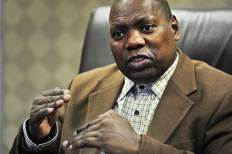 African National Congress (ANC) treasurer-general Zweli Mkhize during an interview on April 21, 2017 in Johannesburg, South Africa. Picture: Gallo Images
