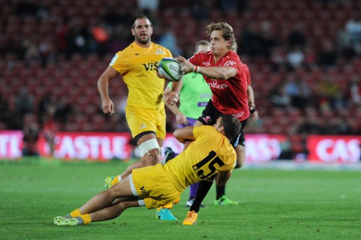 The Lions didn't have it their way at Ellis Park. Photo: AFP.