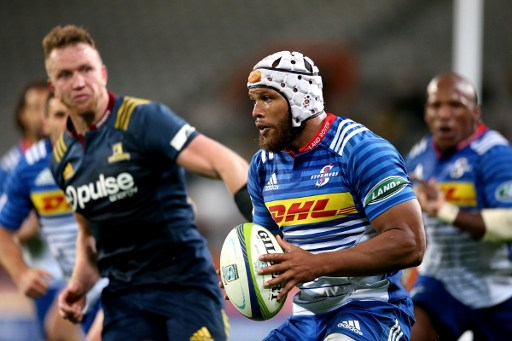 Nizaam Carr scored the Stormers' first try but that would prove to be one of the only highlights for the visitors. Photo: Martin Hunter/AFP.