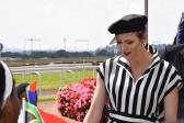 Glamour and elegance on HSH Princess Charlene of Monaco ladies day