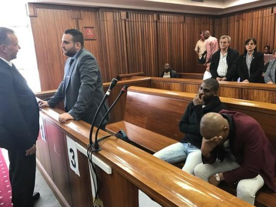 Murder accused Christopher Panayiotou appears before the Port Elizabeth High Court. Picture: ANA