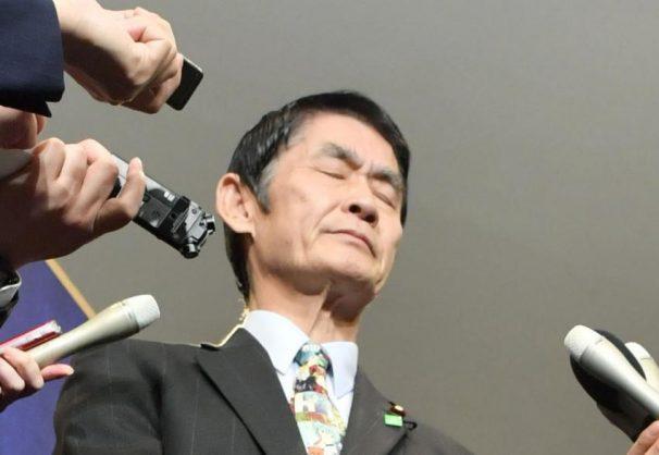 Disaster reconstruction minister Masahiro Imamura