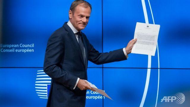 European Council President Donald Tusk reveals his plans for Brexit.