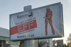 'EFF' now promoting strippers in Sandton