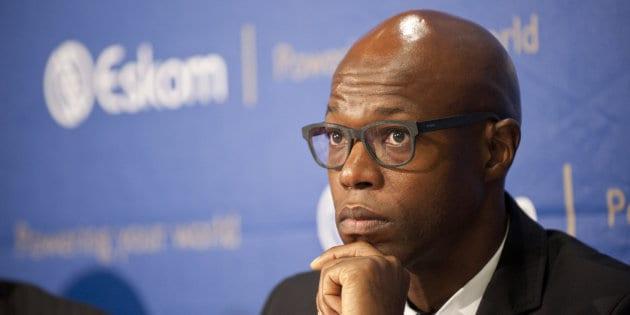 Suspended acting Eskom acting CEO Koko Matshela.