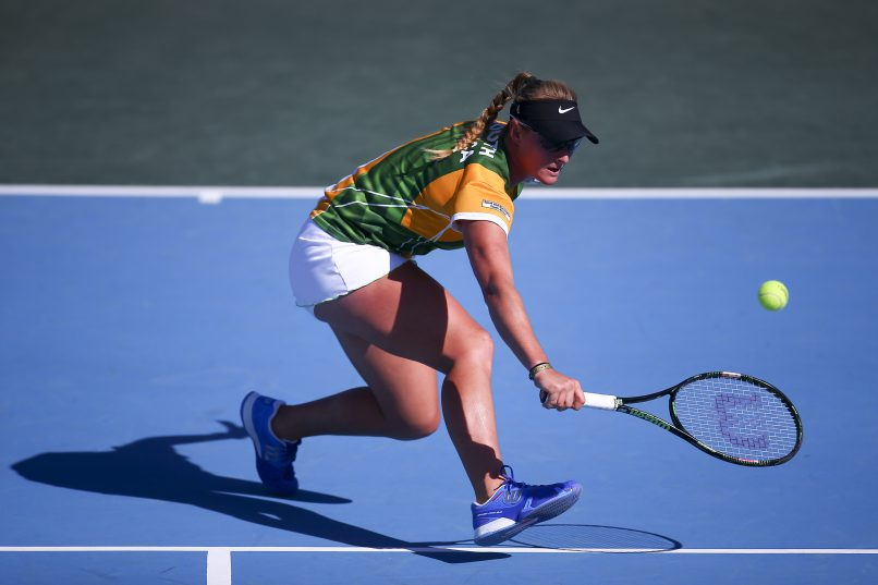 Chanel Simmonds and her teammates had a tough time in Lithuania.  (Photo by Jordan Mansfield/Getty Images for LTA)
