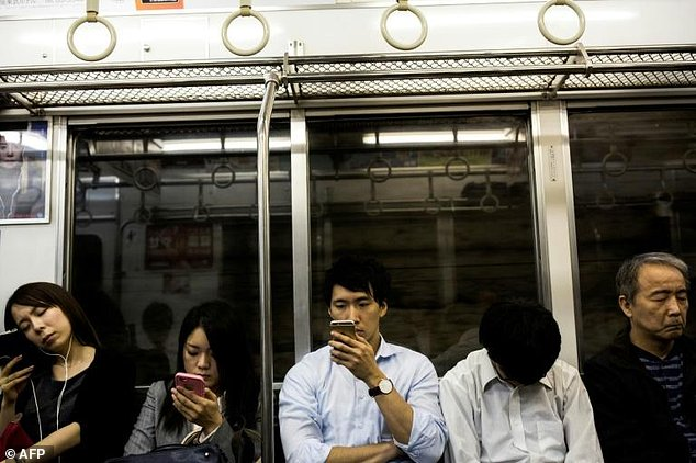 Greater Tokyo, with a population of more than 30 million people about a quarter of Japan's total -- is notorious for its packed trains and subways during peak morning rush hours
