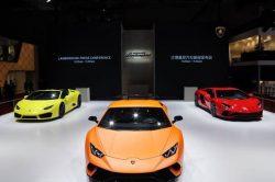 Lamborghini debuts four models at Auto Shanghai Show