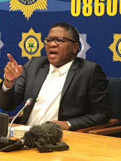 Police Minister Fikile Mbalula. Photo: ANA.