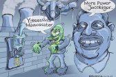 Ghost cartoon: Frankenzuma