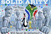 Ghost cartoon: Zuma's birthday gift