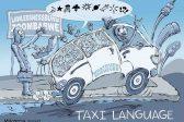 Ghost cartoon: Speaking taxi