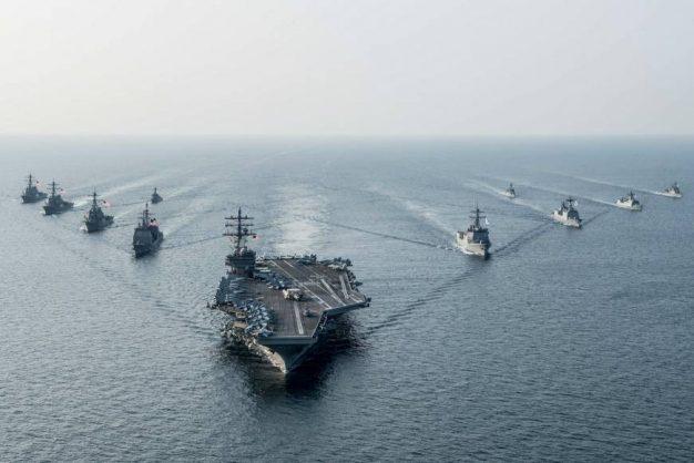 Navy strike.