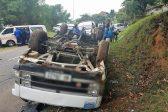 16 preschool children injured after minibus taxi rolls
