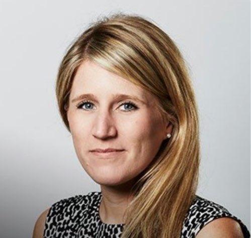 Former Bell Pottinger executive Victoria Geoghegan. Picture: Twitter