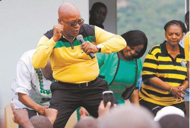 ANC President Jacob Zuma.  AFP PHOTO / STRINGER