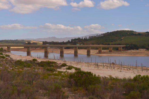 Dam levels in Western Cape down to 18 percent