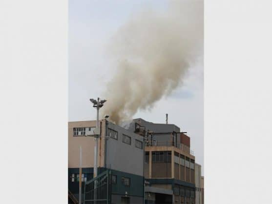 The Herald reported on a fire at the cooking oil factory in March last year. File photo