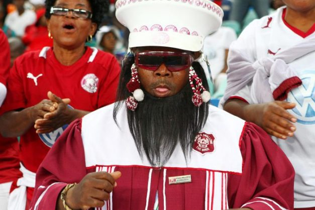Moroka Swallows fans (Photo by Anesh Debiky/Gallo Images)
