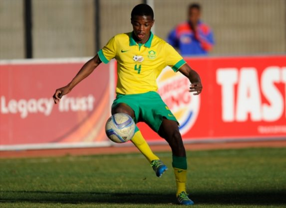 Teboho Mokoena of South Africa U20 (Photo by Charle Lombard/Gallo Images)
