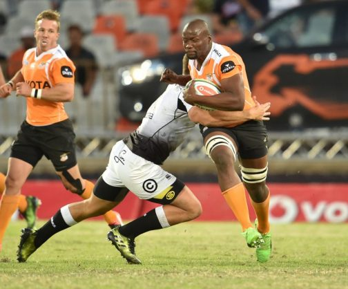 Will Springboks like Oupa Mohoje be able to continue their careers in Bloemfontein beyond 2018? Photo: Johan Pretorius/Gallo Images.