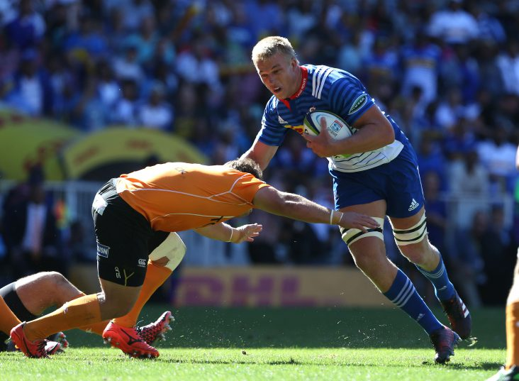 Can Pieter-Steph du Toit deliver as a flank?. Photo: Carl Fourie/Gallo Images.