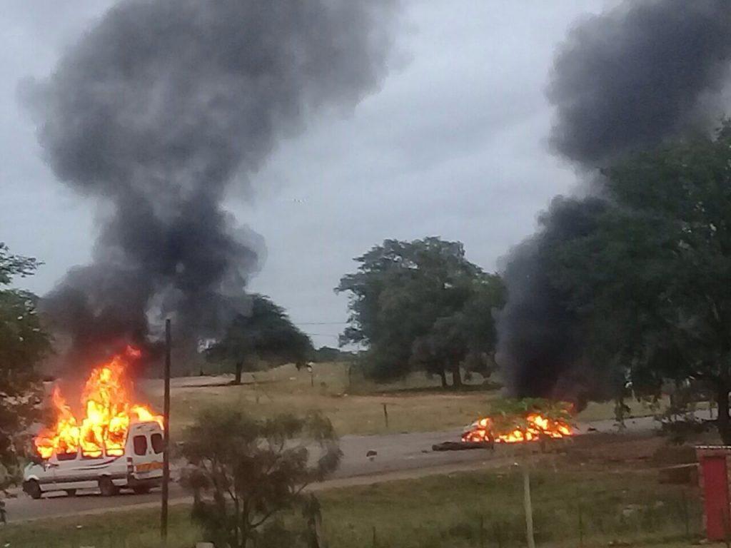 Unrest flames up again around Phalaborwa. Photo: SAPS
