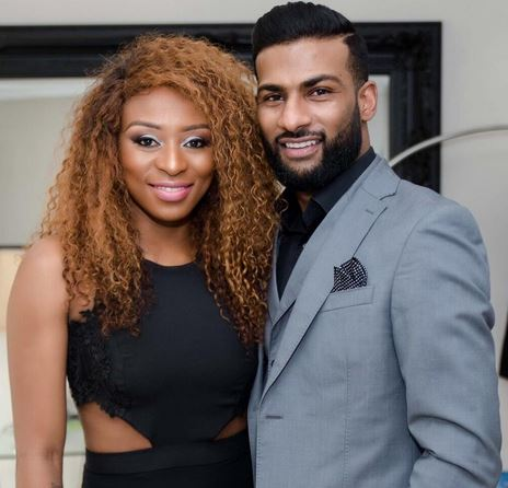 DJ Zinhle and Brendon Naidoo. Image: Instagram