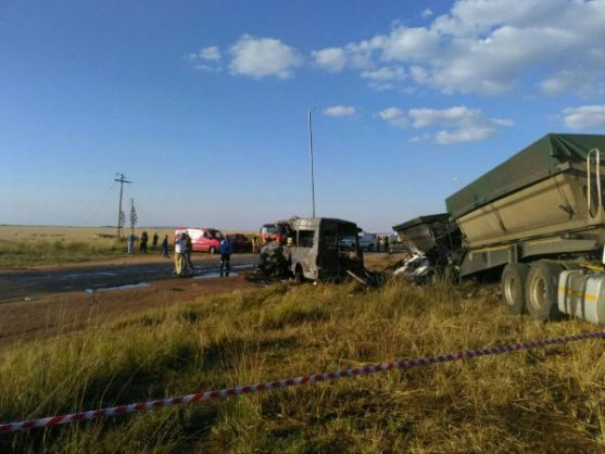 Bronkhorstspruit crash: R50k donated to help cover funeral costs