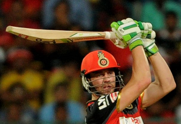 AB de Villiers is the most expensive Proteas player at this year's Indian Premier League. Photo: Durgesh Kumar/Times of India/AFP.