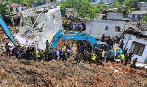 Dozens still missing in Sri Lankan garbage collapse; 30 dead