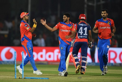 The IPL match between Gujarat Lions and Delhi Daredevils has been tainted by match-fixing allegations. Photo: Prakash Singh/AFP.