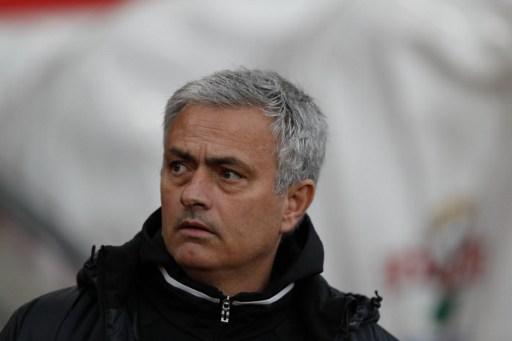 Sneaky: Jose Mourinho. Photo: Adrian Dennis/AFP.