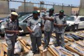 Nigeria seizes illegal arms shipment
