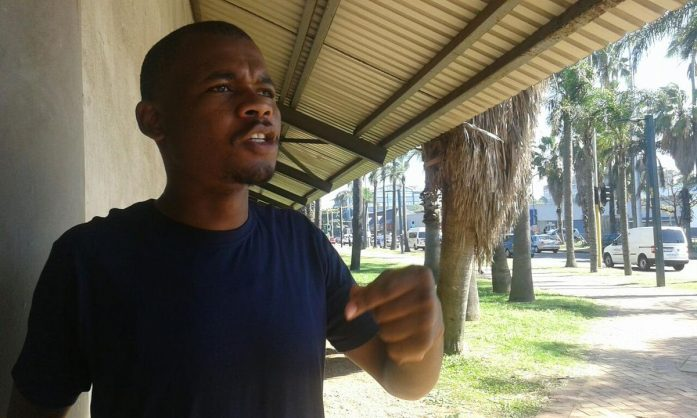 Thabani Mthombeni, member of the South African Youth Alliance. Picture: ANA