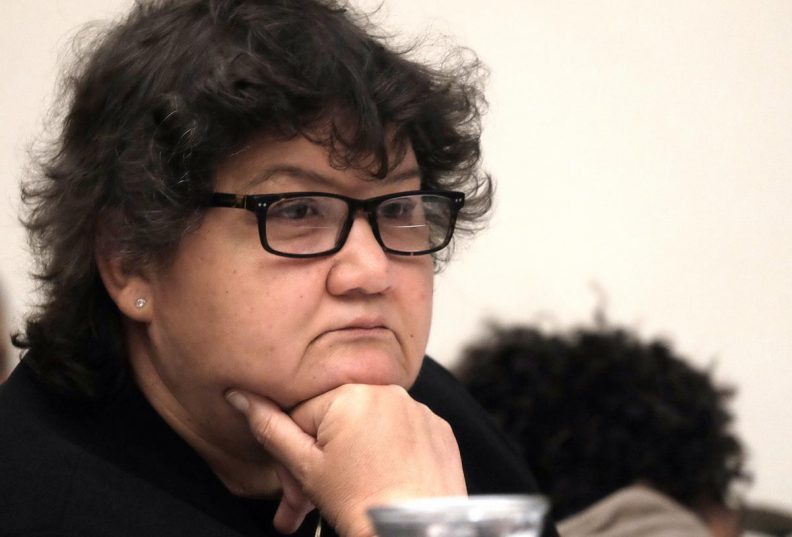 Public Enterprises Minister Lynne Brown appears before the public enterprises portfolio committee in Parliament. Picture: ANA