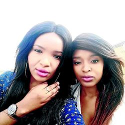 Bongeka Phungula and her friend Popi Qwabe. as they appear on a Facebook profile picture. The two were found murdered in Soweto at the weekend. /Facebook