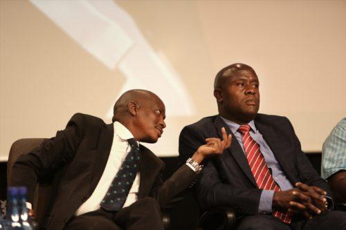 Suspended SABC acting CEO James Aguma resigns