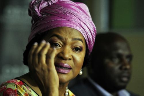 Baleka Mbete says she's not a 'Zuma person'