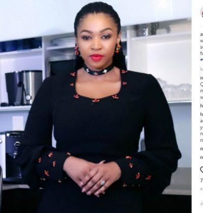 Ayanda Ncwane. Picture: Instagram.