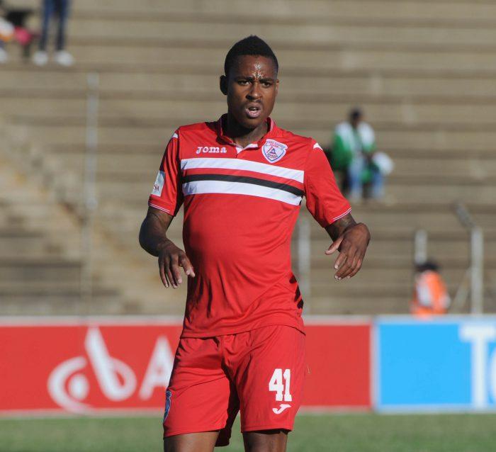Nhlakanipho Ntuli of Free State Stars (Sydney Mahlangu /BackpagePix)