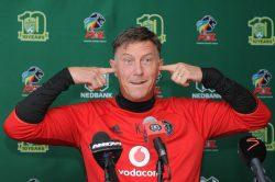 Jonevret eyes Nedbank Cup to appease Pirates fans